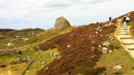 Approaching Dun Carloway Broch