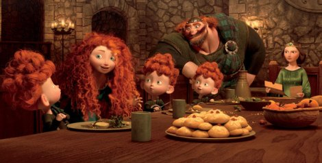 Brave's Merida in DunBroch Castle