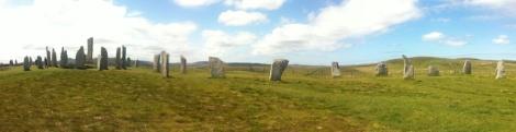 Callanish Standing Stones panorama