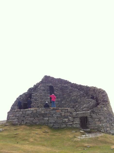 Dun Carloway Broch from a distance