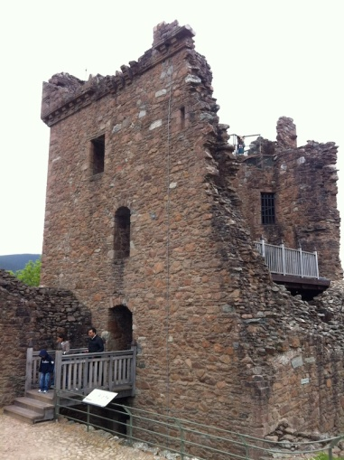 Urquhart Castle's Grant Tower