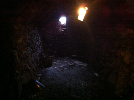 Inside Arnol Blackhouse