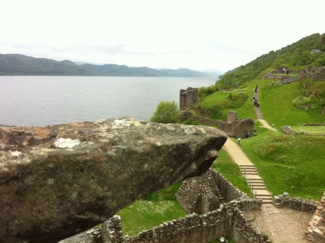 Looking over Loch Ness