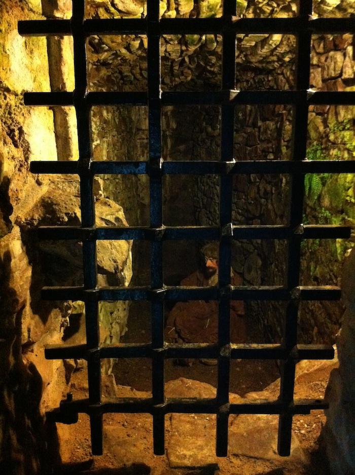 Urquhart Castle jail cell