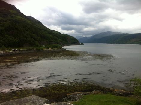 View from Eilean Donan